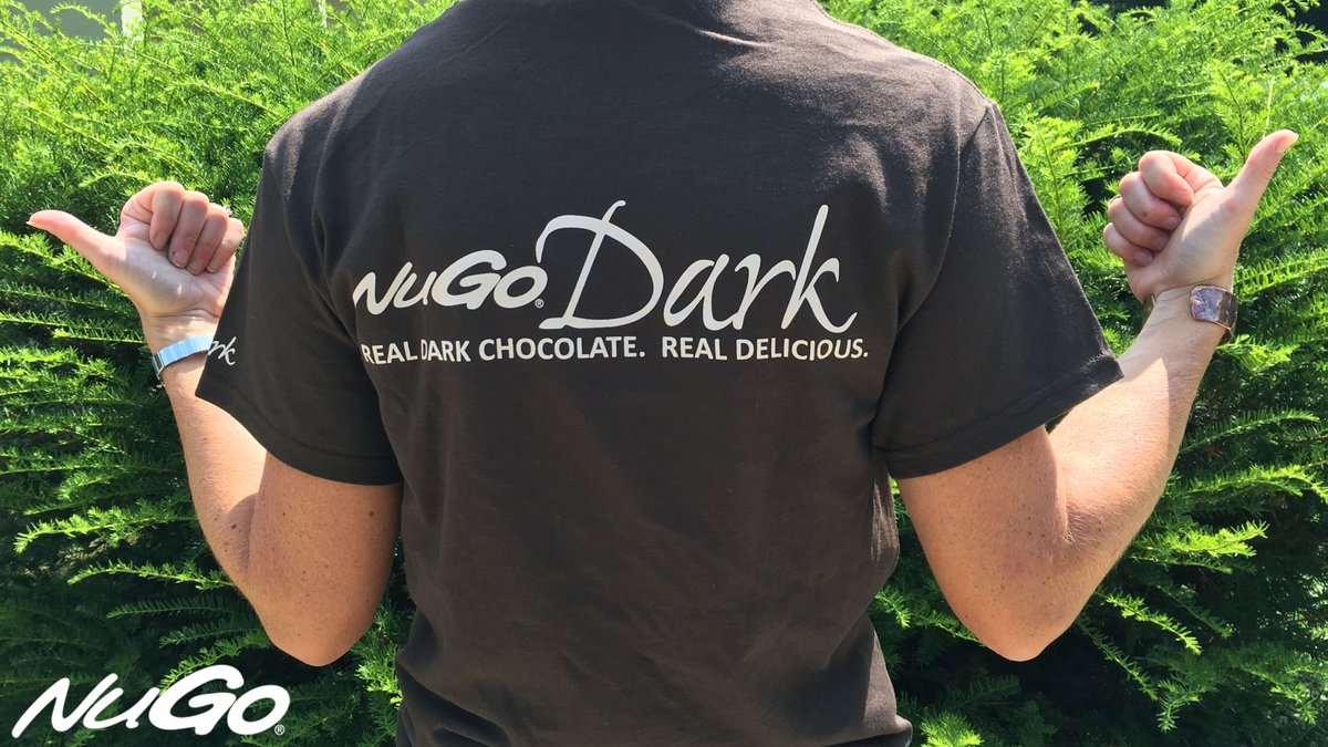 NuGo Dark T-shirt giveaway ends on 8/19/16. RT to enter to win! https://t.co/25EDlxnivC #LoveforNuGo #vegan #protein https://t.co/Vkc6H0O6Ri