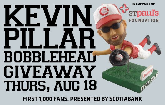 CONTEST: RT to be entered to win a @KPILLAR4 Bobblehead & two tickets for tonight's game!  Winner selected @ 1 p.m. https://t.co/m7Bs3iYTKN