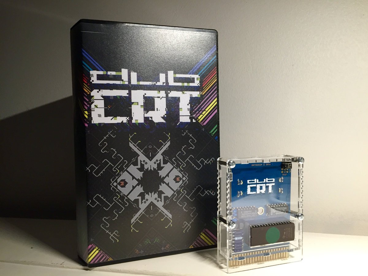 DUBCRT, our C64 music/visual/mystery cartridge/album, is out now! https://t.co/XhTamEy872 https://t.co/5fsxHC1WxL