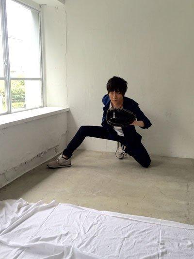 【「畠中祐(永倉豪役)」オフショット!】その2 昨日は永倉豪役:畠中祐さんの誕生日!おめでとうございます!そしてこの鋭い