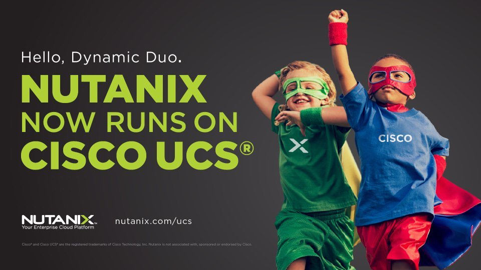 #Nutanix Software Now Runs on #CiscoUCS https://t.co/1uSGI5n1RO #sysadmin https://t.co/vm9Xou3553