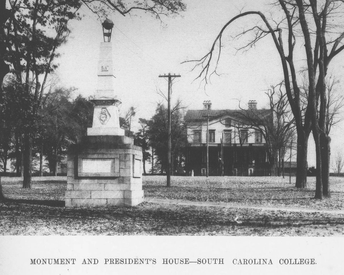 1st day of classes at @UofSC calls for a #TBT to the #Horseshoe in 1905! @HarrisPastides @MyCarolina #ForeverToThee https://t.co/ZX3Pcn5M6n