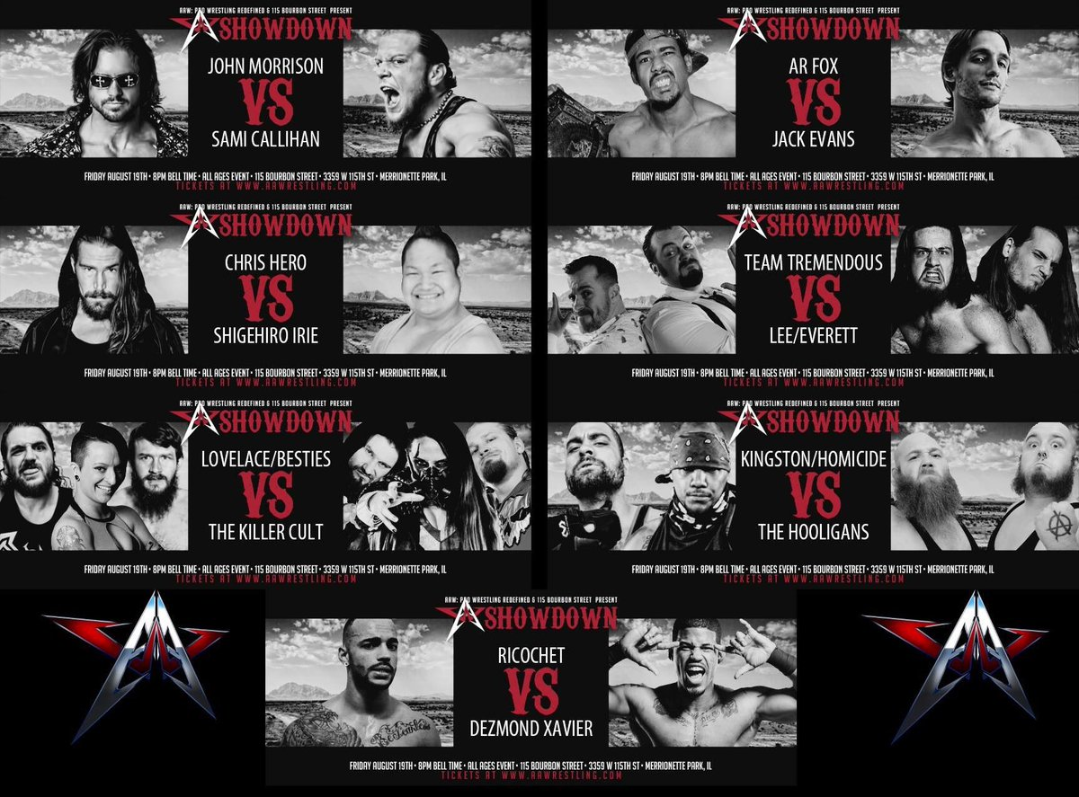 Tomorrow night!!!  @AAWPro returns to 115 Bourbon Street with a dandy evening of professional wrestling. https://t.co/XXs5CvWPpn