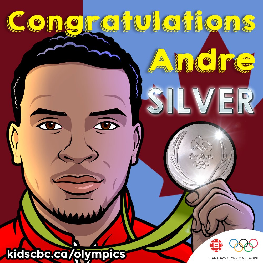 CONGRATS to @De6rasse, winner of the #Silver in men's 200m! #Rio2016 https://t.co/LhDmBR0Wyt https://t.co/0BdfaQx5Oc