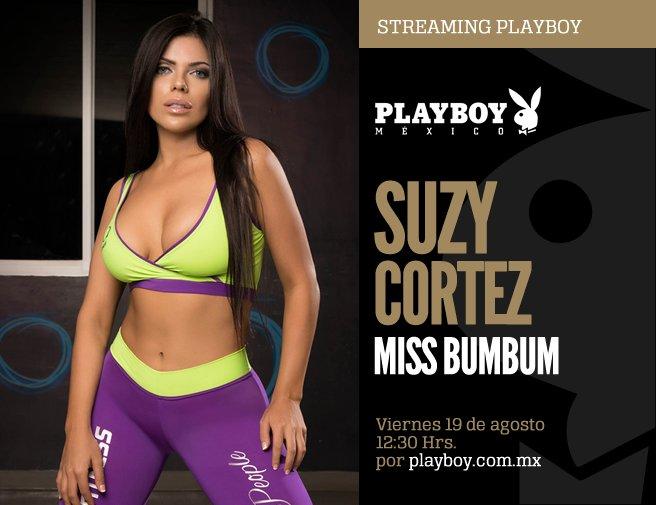 RT @PlayboyMX: No te pierdas el #StreamingPlayboy con @SuCortezOficial ¡Envía tus preguntas con el HT #SuzyEnPlayboy! https://t.co/WqGkavJB…