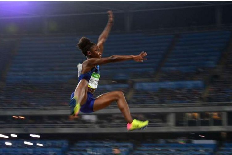 USA's Bartoletta wins women's long jump gold