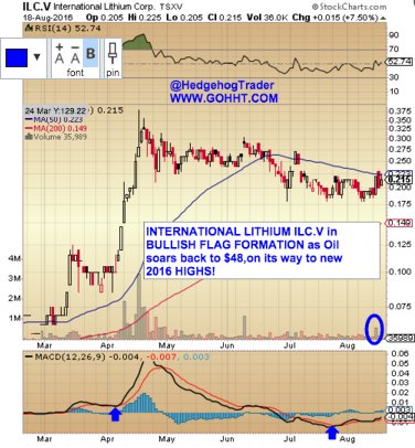 International Lithium $ILC.V readies for a very electric ride! #Near-termProducer @ILCtsxv @kirillklip @Sufiy https://t.co/84Cxhpn8Mn