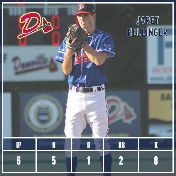 .@JaretHellinger exits after 6 IP and a career high 8 strikeouts. The #DBraves and Astros are tied 1-1. https://t.co/zCyZzqZssg