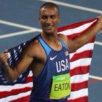 American Eaton retains decathlon title