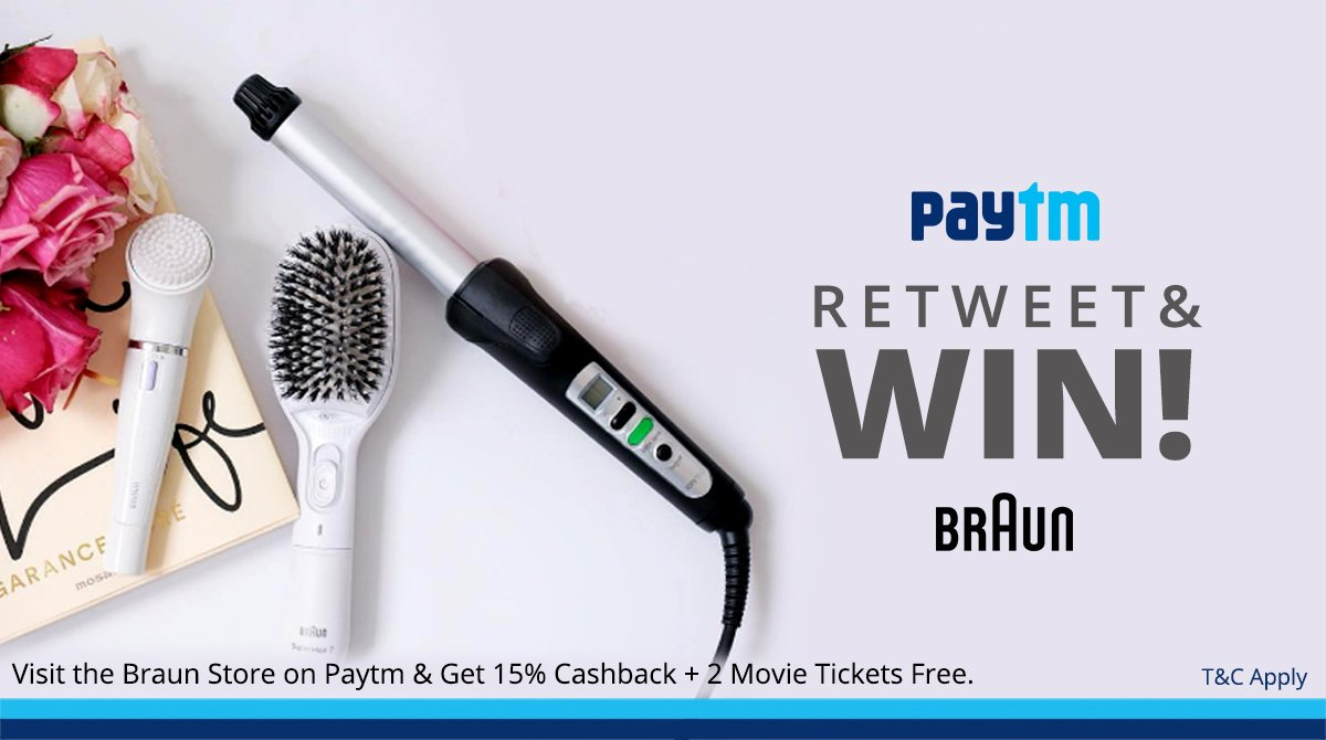 #CONTEST : Simply Retweet this and we will give away a Braun Product to a Lucky retweeter. https://t.co/0KjL7UdarJ https://t.co/txs742AuFB