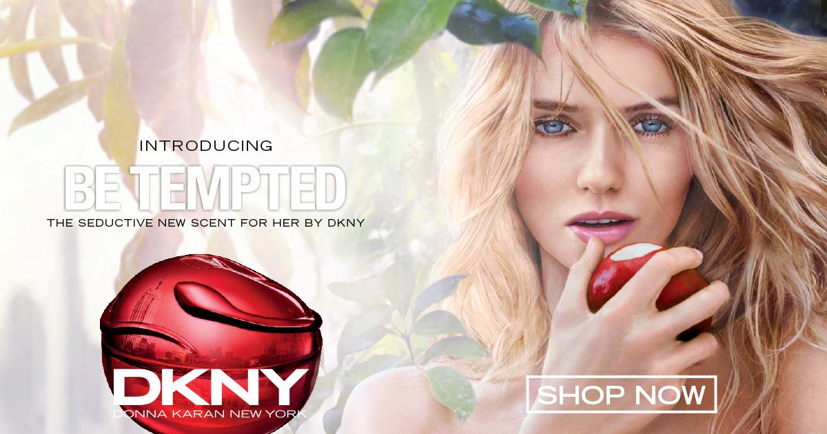 Indulge before you fly with NEW DKNY Be Tempted 100ml. BeTempted Shop @WorldDutyFree BHX: