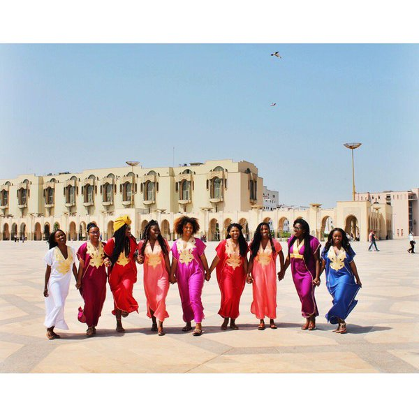 A great photo of Spelman students who studied in Rabat, Morocco this summer! #SpelmanWomenTravel https://t.co/rbBgpCtsDL