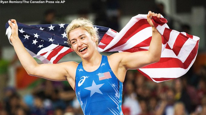 2016 : Marquette's Helen Maroulis Becomes 1st U.S. Woman With Wrestling Gold