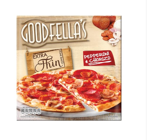 Goodfella's Extra Thin Pepperoni & Chorizo (328 Grams) https://t.co/PUcW1q0aZs