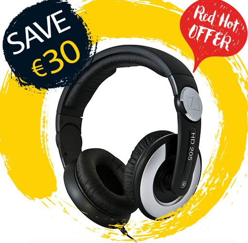 Get the Sennheiser HD205's for just €39.99!The rotating cups give extra comfort; for all those long study sessions! https://t.co/wGoj5wOHqb