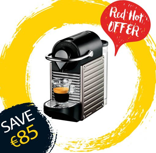 Make mornings a little bit easier! We have the amazing Nespresso XN300540 for just €74.99! #ItAllStartsHere https://t.co/DJ31gG6VFx