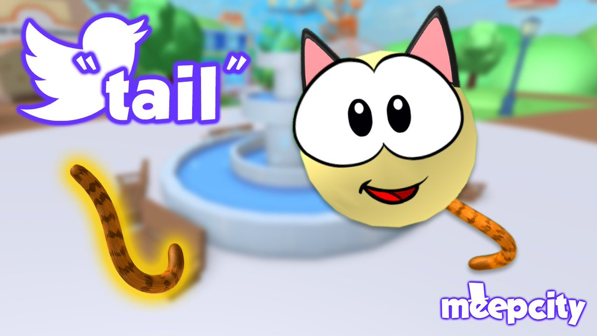 "It's that time again for a new #MeepCity code! Enter ""tail"" to get a FREE exclusive tail accessory for your Meep! https://t.co/dm2m7mgNpO"