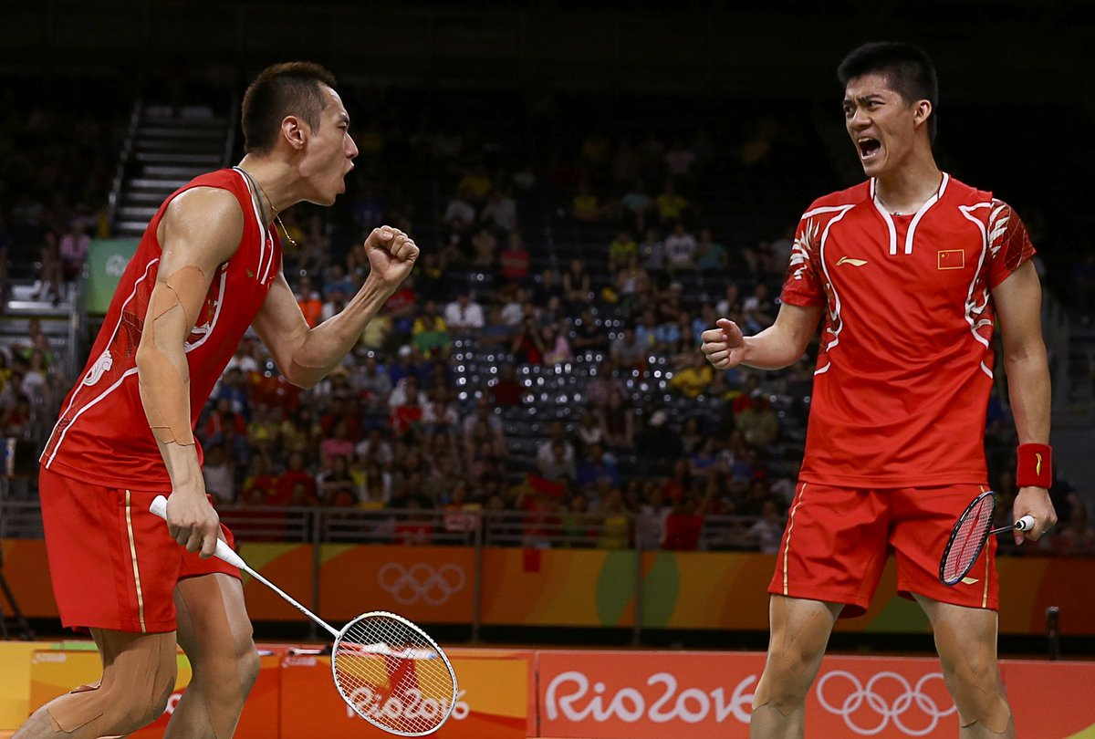 China s fu haifeng & zhang nan win gold in men s doubles