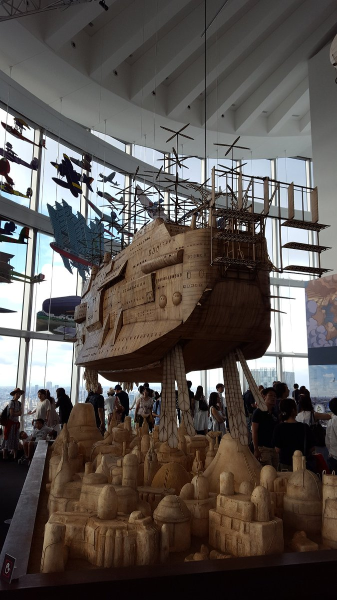 The #Ghibli exhibition in Roppongi is very cool  #Tokyo @Animeleague https://t.co/RqvMwKhjXt