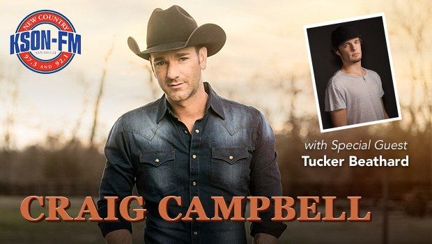 Tickets now on sale: @kson973 Presents Craig Campbell with Special Guest Tucker Beathard https://t.co/Ns2eOsZpmc https://t.co/QtQWkiFx35