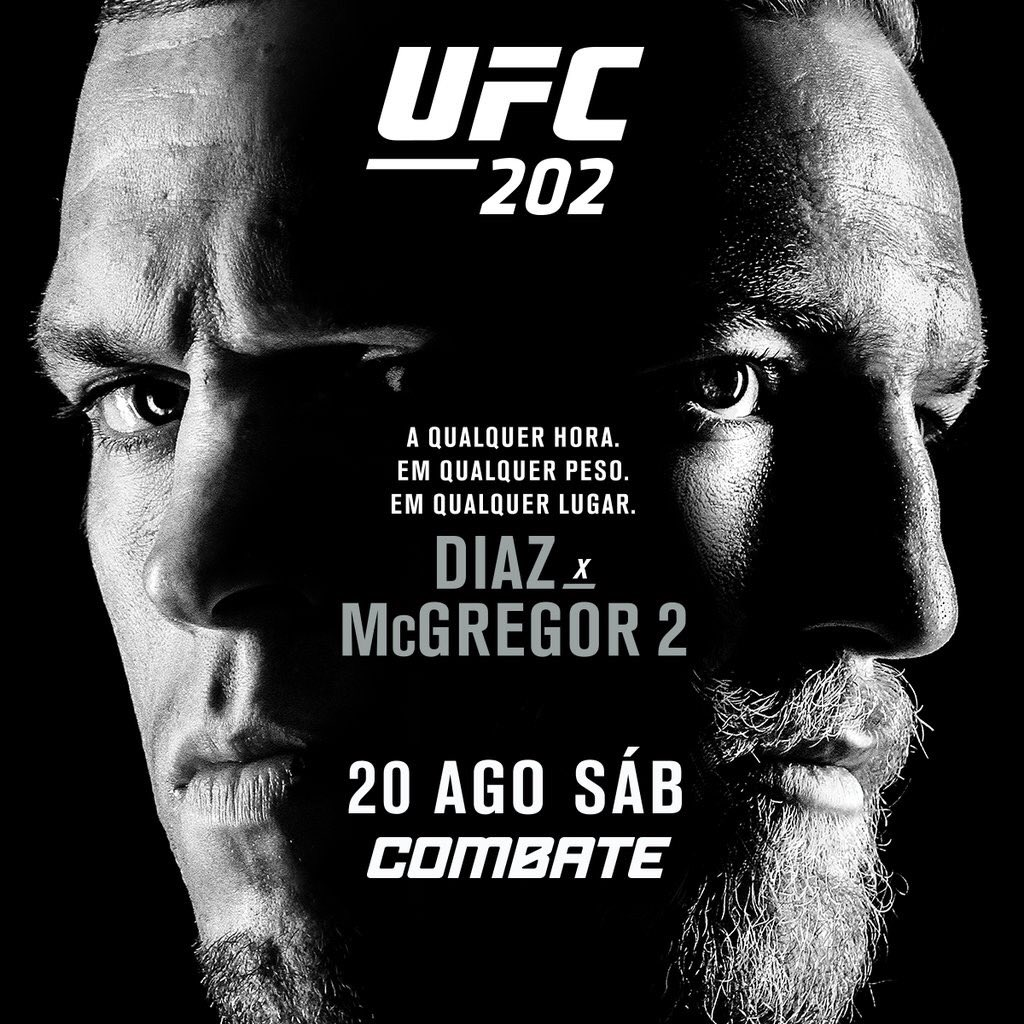 #UFC202noCombate Ansioso para as lutas e vou ficar ligado no @canalCombate e vc? Mais alguém ansioso ou só eu? https://t.co/FdCuHLQyvu