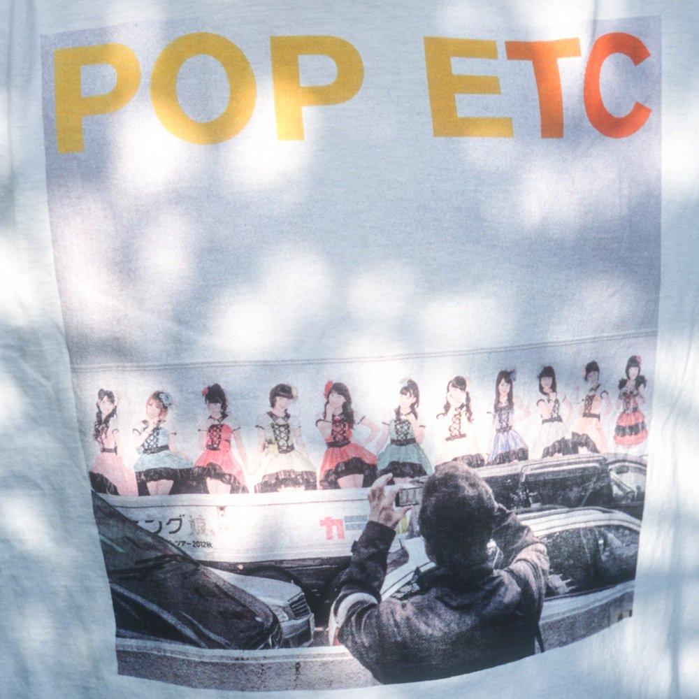 サマソニの出演者のHP見てたらPOP ETCのオフィシャルTシャツがモーニング娘。のブートTシャツでびっくり!https://t.co/UMfY6dwWOX https://t.co/MkXyne1Ery