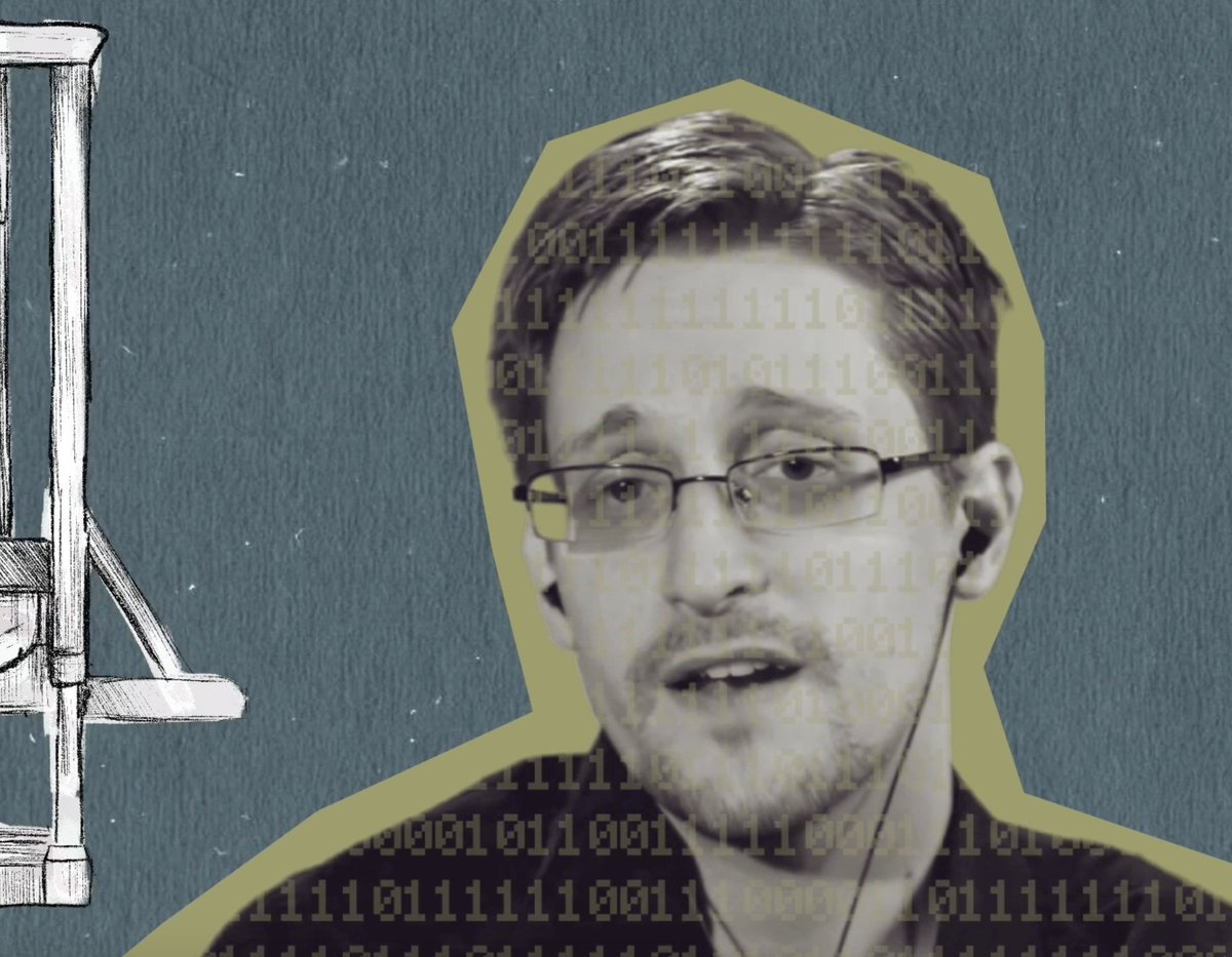 Edward @Snowden speaking about future tech set to pastiche animation.. https://t.co/cGwMoHFazW https://t.co/85nydPIaX7