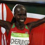 Kenyan Cheruiyot trumps Ayana for 5000m gold