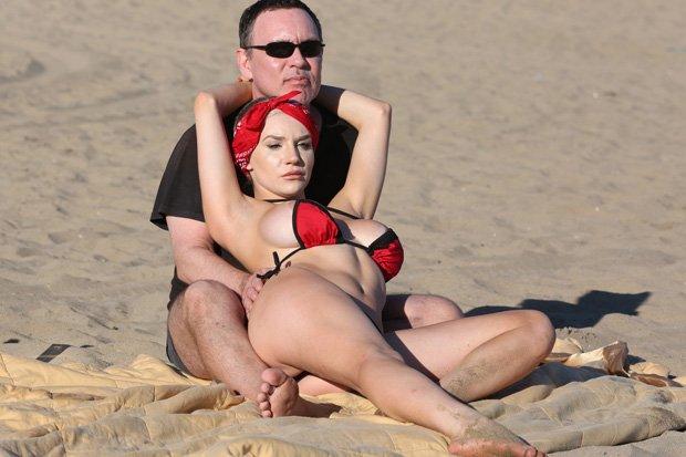 beach Bikini courtney stodden
