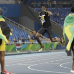 Mission accomplished as Bolt seals 'triple-triple'