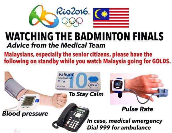 Some friendly word of advice from our friends at @KKMPutrajaya for the faint-hearted watching tonight's match. https://t.co/hOSWyFS7lC
