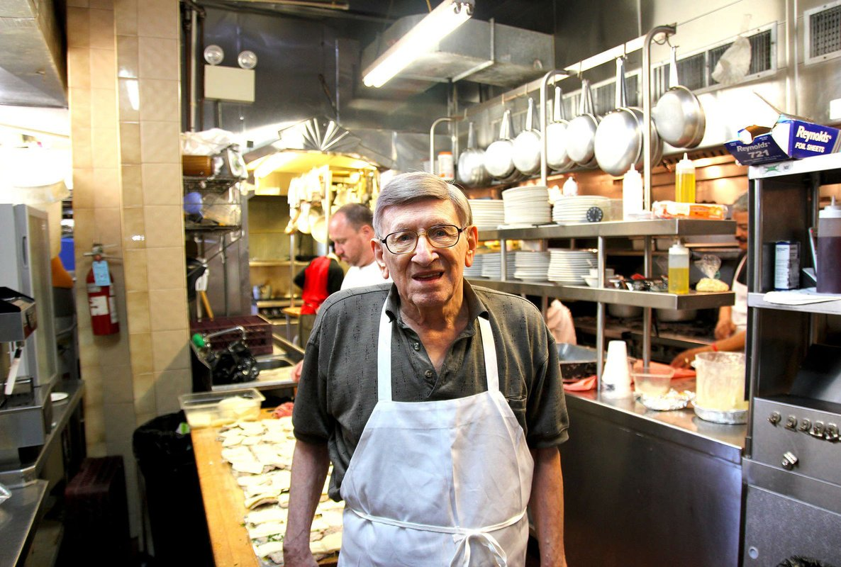 After 72 years in business, Ralph Dispigno of Ralph's Italian Restaurant still loves the cooking