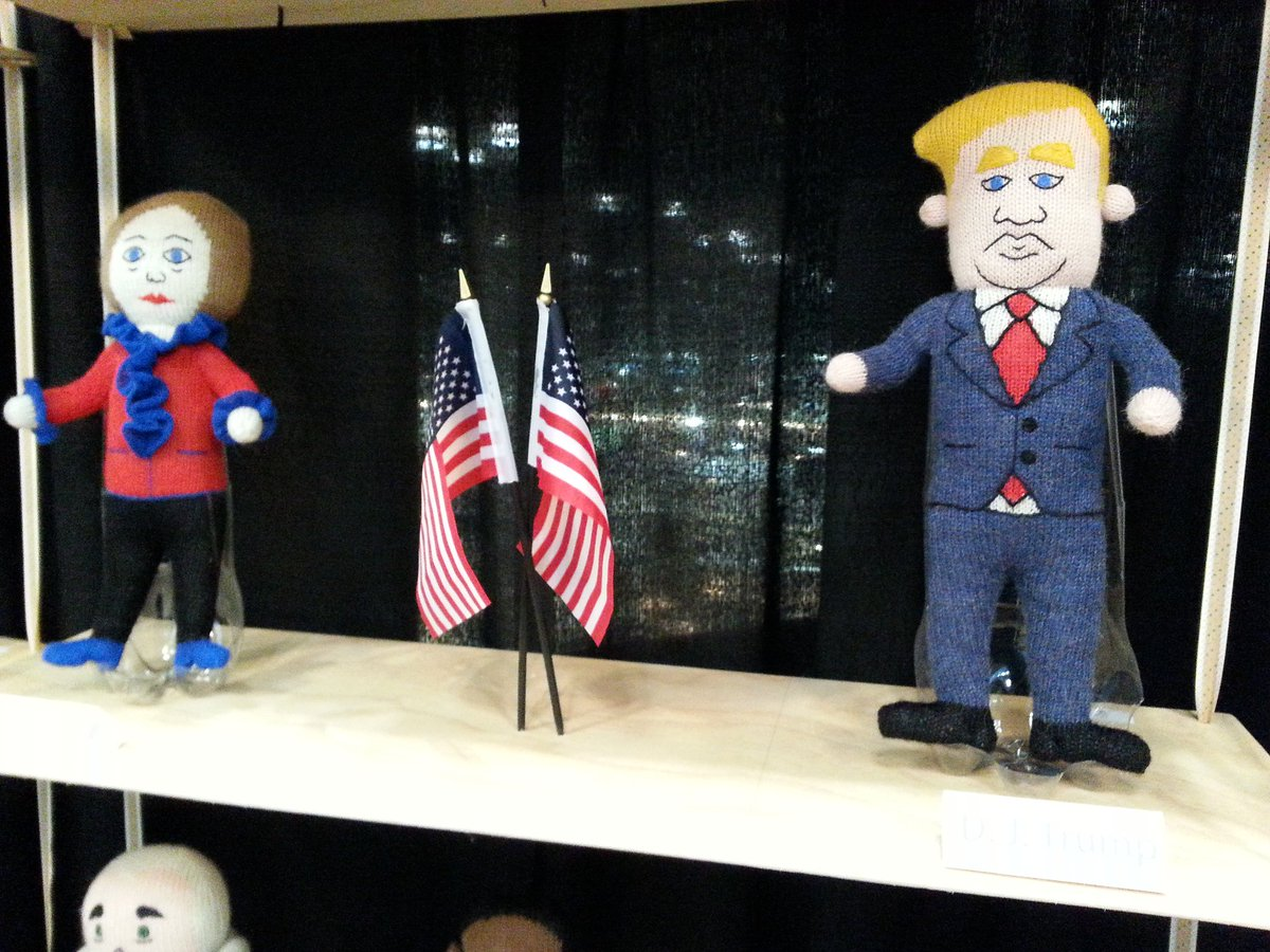 RT : #trump & #nynow handmade in bolivia booth 311 #specialflair #quirky