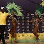 No Rio, Usain Bolt foi discreto, mas não resistiu ao samba -  - Estadão