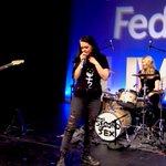 The Second Sex perform at #LiveonLydiard at #feduni in #ballarat https://t.co/OMr40kHmwN