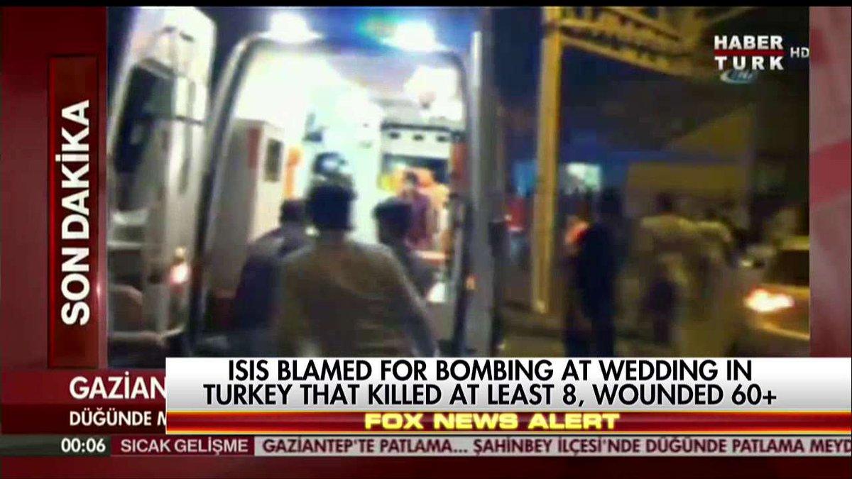 Bombing at wedding