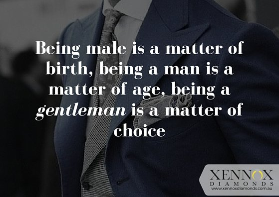 It's your choice - choose to be a Gentleman. https://t.co/wicZejZkLW