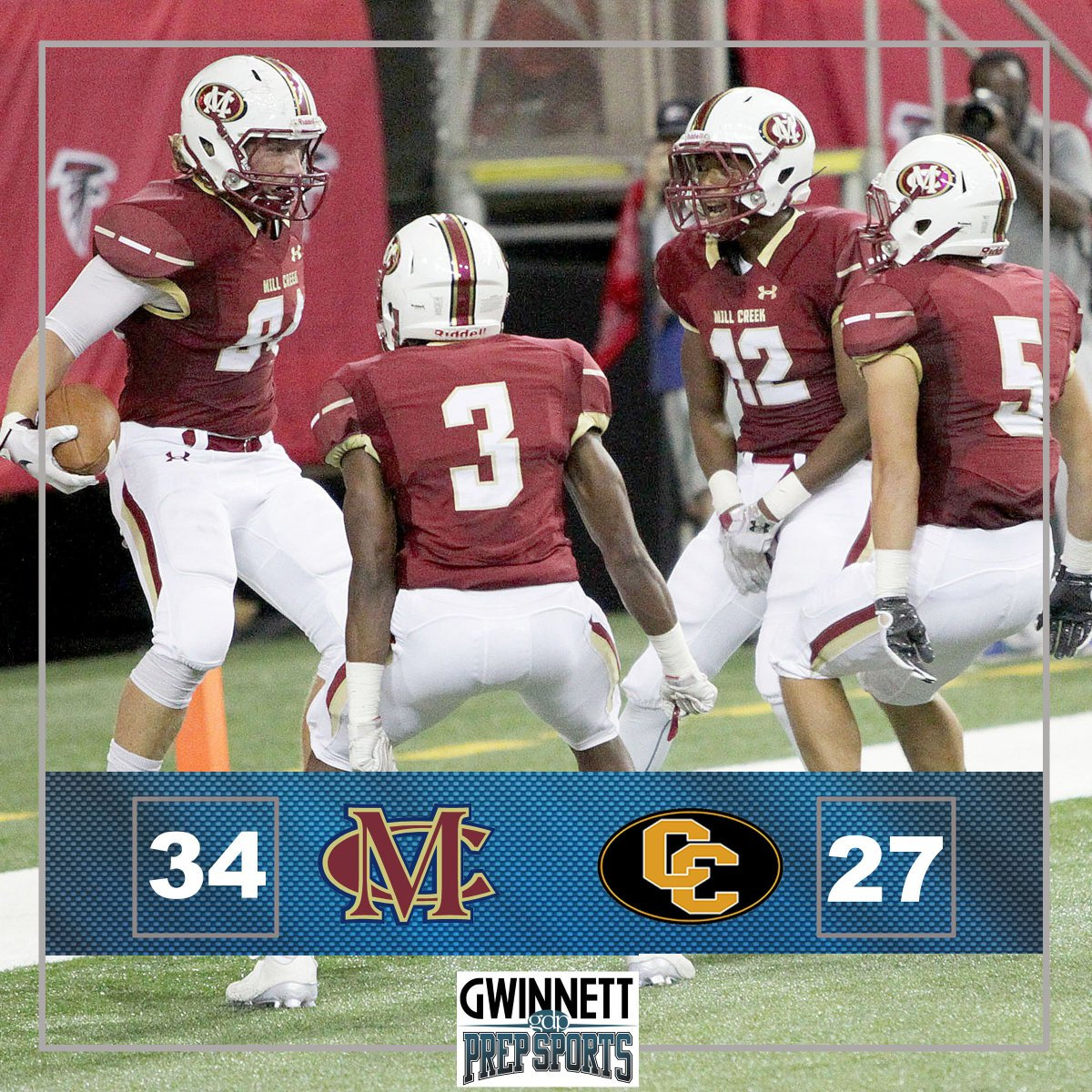 Mill Creek snaps Colquitt County's 30-game win streak in the #CorkyKell. More photos at https://t.co/BIMrJdN6cQ. https://t.co/jgVHZOUknp
