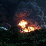 Oil from refinery blast slickens Nicaragua habitat: environmentalists