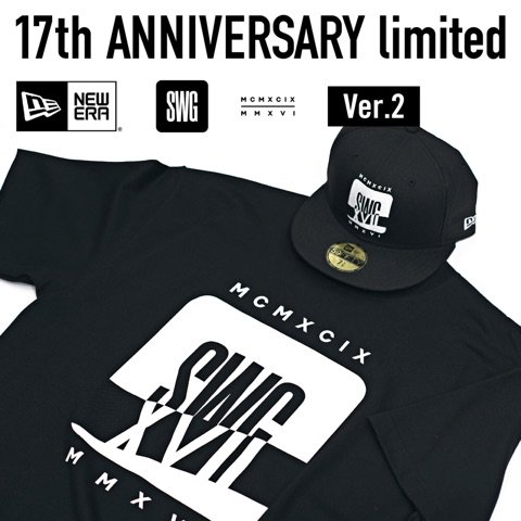 【SWAGGER 17th ANNIVERSARY - Exclusive TEE Ver.2】  SWAGGER 公式通販サイト  【5-22 STORE】  https://t.co/EnRBk839Xc https://t.co/QAc1arclQ2