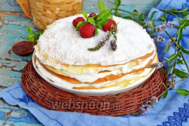 Рецепт тортов блинный торт