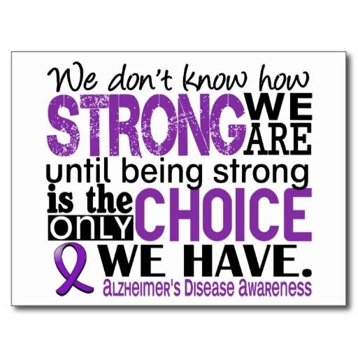Please help us spread Alzheimer's awareness