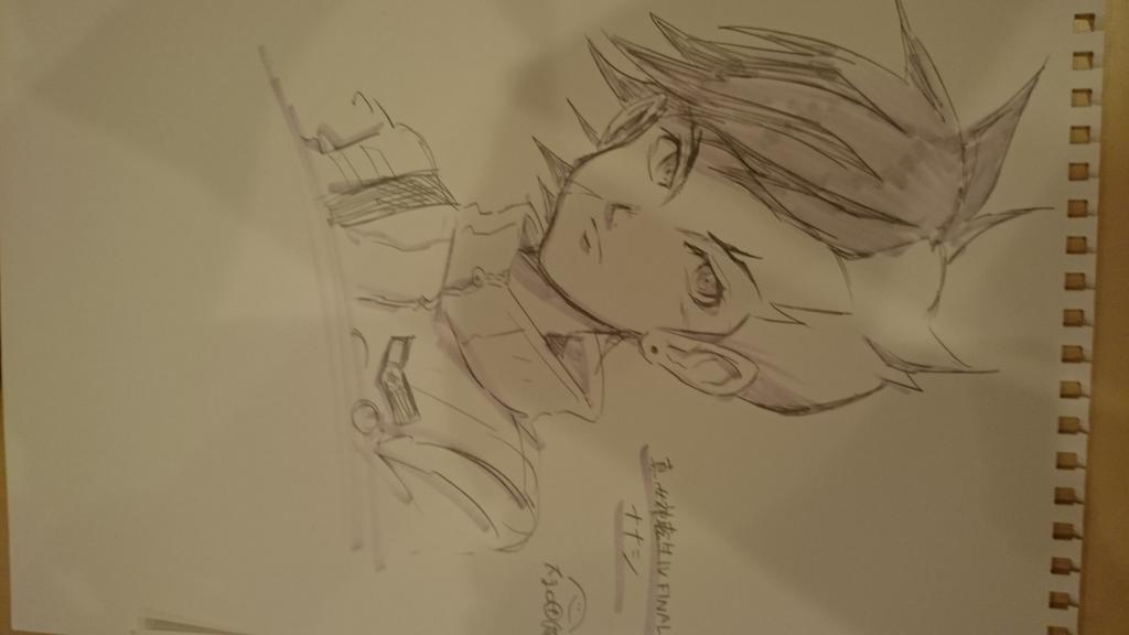 友人に真4Fとデビサバ1のイラスト描いてもらった!