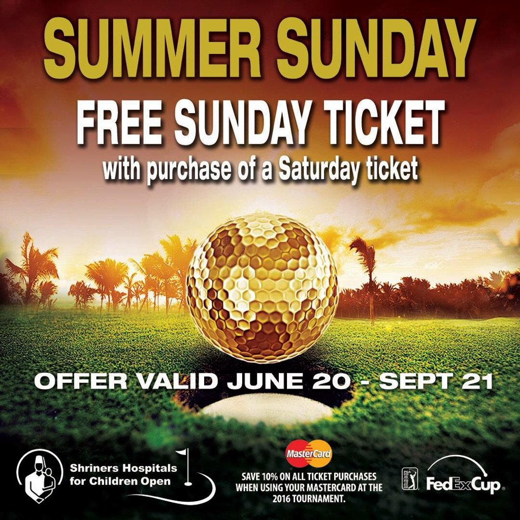 Thru 9/21 fans can receive a FREE  Sunday ticket w/ the purchase of a Saturday ticket. https://t.co/AyXTbI4COC https://t.co/ERP8sHU0AE