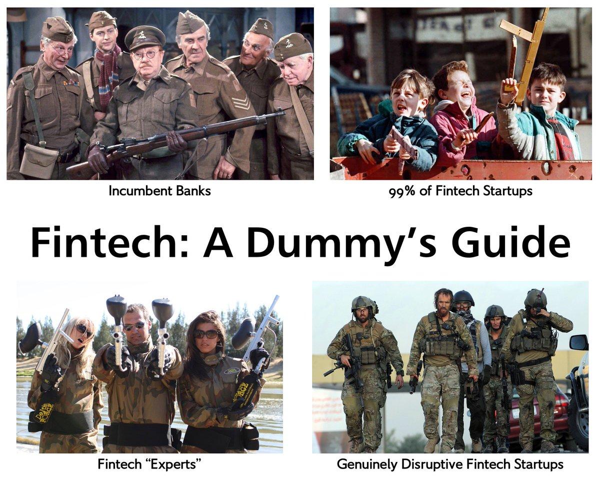 Fintech for Dummies. https://t.co/bzdQRc28SF