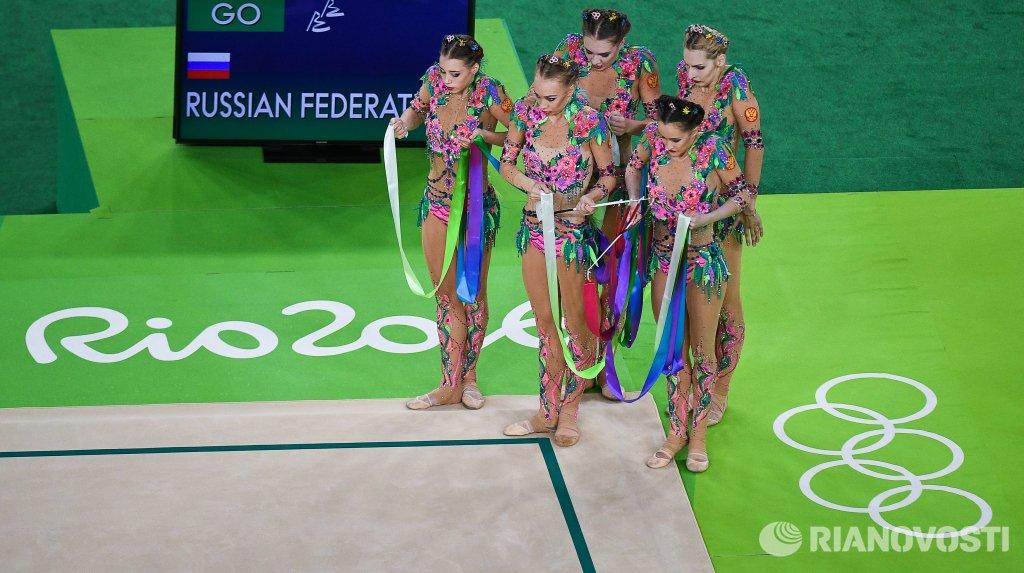 олимпиада 2016 художественная гимнастика групповое многоборье финал сегодня мировую