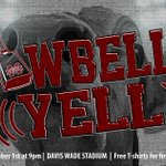 DONT FORGET | Cowbell Yell is this Thursday night! Join us as we kickoff the new @HailStateFB season. https://t.co/iTjWtRYakt