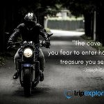 #MondayMotivation - The cave you fear to enter holds the treasure you seek https://t.co/aoKY48YThS