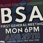 Special performance from @Beyonce at the first BSA meeting of the year!!! Jk... But there will be free soul food 😏 https://t.co/q4uKD1zUel
