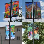 Have you seen the new street banners by @NVSD44 students flying on Lonsdale? Wow! @NorthVanRC #NorthVan https://t.co/T9u49wq3E6